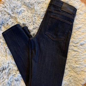 Naked & Famous The Skinny indigo stretch jean